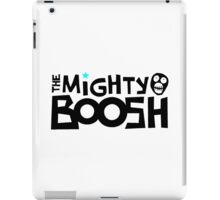 The Mighty Boosh – Black Writing & Mask iPad Case/Skin