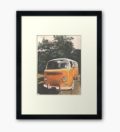 Little Miss Sunshine Framed Print
