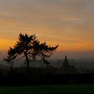Longsdon Church at Dawn by Aggpup