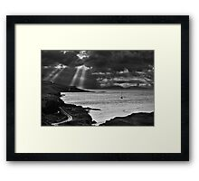 Storm Light on North Uist 03 - Isle of Skye, Scotland Framed Print