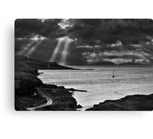 Storm Light on North Uist 03 - Isle of Skye, Scotland Canvas Print