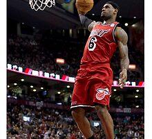 Lebron James Miami Heat by BIGDREAMS001