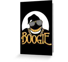 OG Boogie Greeting Card