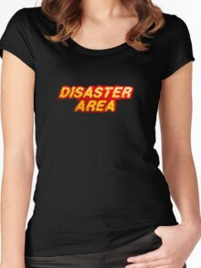 Disaster Area Women's Fitted Scoop T-Shirt
