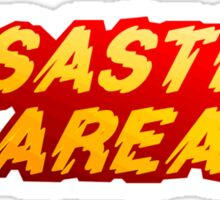 Disaster Area Sticker