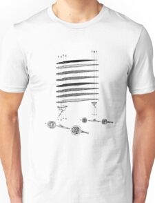 skateboard assembly Unisex T-Shirt