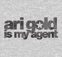 Ari Gold is my Agent (Black) by Rohan Maini