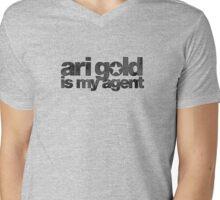Ari Gold is my Agent (Black) Mens V-Neck T-Shirt