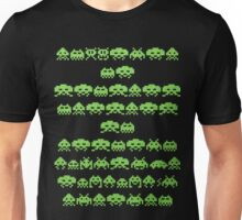 Space Invaders Green Goop Unisex T-Shirt