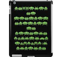 Space Invaders Green Goop iPad Case/Skin