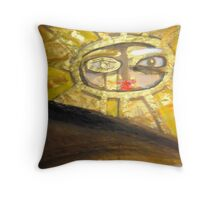 red shine 14 Throw Pillow