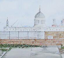 """London rooftops..St. Pauls"" by Alan Harris"