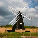 Windmill at Wicken Fen by Tom Curtis