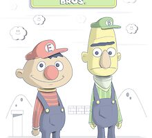 Super Sesame Bros. by Adam Leonhardt