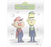 Super Sesame Bros. Poster