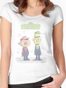 Super Sesame Bros. Women's Fitted Scoop T-Shirt