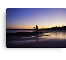 Catching A Sunrise Canvas Print