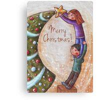 Christmas Tree Canvas Print