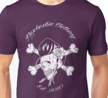 Rockabilly Girl Skull Unisex T-Shirt