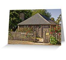 Sharam Cottage, Penola 1850 Greeting Card
