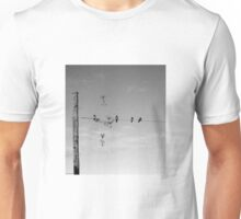 'live on a wire' Unisex T-Shirt