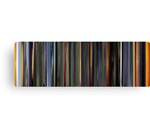 Moviebarcode: The Animatrix 3 The Second Renaissance Part II (2003) Canvas Print