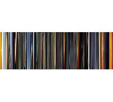 Moviebarcode: The Animatrix 3 The Second Renaissance Part II (2003) Photographic Print