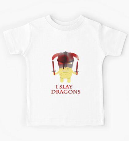 I Slay Dragons! Kids Tee