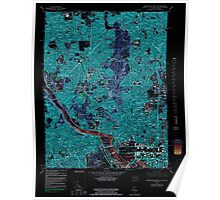 USGS Topo Map District of Columbia DC Washington West 256989 1965 24000 Inverted Poster