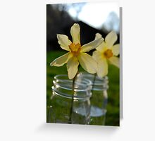 Love is Natural Greeting Card