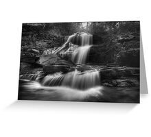 Shawnee Falls (version III) Oct 2011 Greeting Card