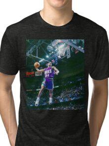 Ray Allen Milwaukee Bucks Tri-blend T-Shirt