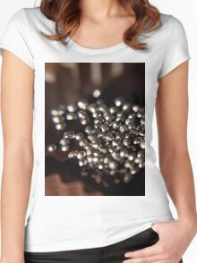 Silver Chocolate Cake T-Shirt Women's Fitted Scoop T-Shirt