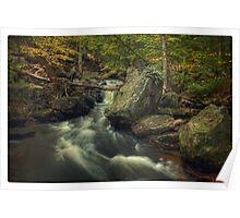 Above Mohawk Falls (version II) Oct 2011 Poster