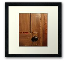 Old Door 2 Framed Print