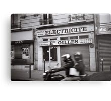 Old Parisian wall  Metal Print