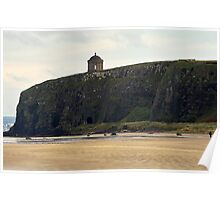 Benone strand N.Ireland Poster