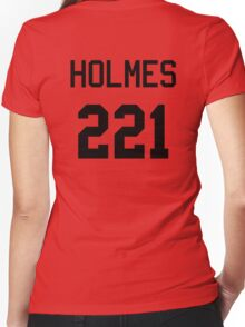 Sherlock Baseball-T Women's Fitted V-Neck T-Shirt