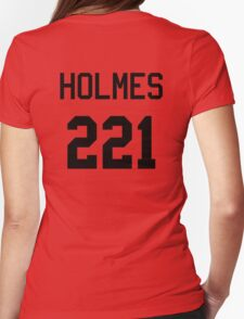 Sherlock Baseball-T Womens Fitted T-Shirt