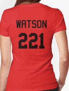 John Watson Baseball-T Womens Fitted T-Shirt