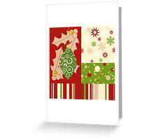 Modern Christmas, Modern holiday art Greeting Card