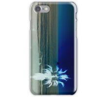 Palm On The Beach-Horizontal... iPhone Case/Skin