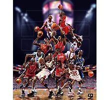 Michael Jordan career timeline  Photographic Print