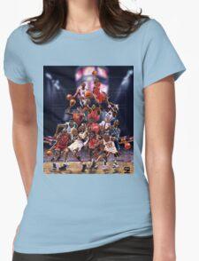 Michael Jordan career timeline  Womens Fitted T-Shirt