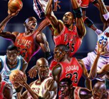 Michael Jordan career timeline  Sticker