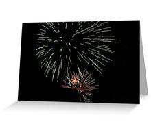 Fireworks - boom! Greeting Card