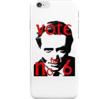 Vote #6 iPhone Case/Skin