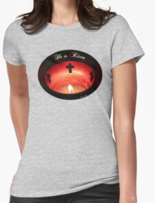 Easter ~ Cathedral of St. Augustine Womens Fitted T-Shirt