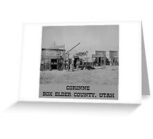 Town of Cornine Greeting Card