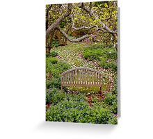 Quiet Setting Greeting Card